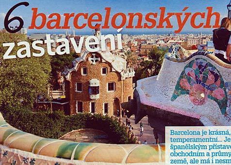 Six spots in Barcelona - Blesk