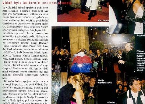 World Sports Award of the Century in Vienna - Playboy